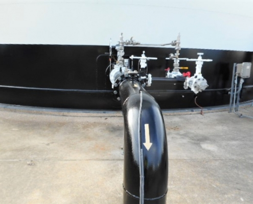 A finished Fuel tank repair project