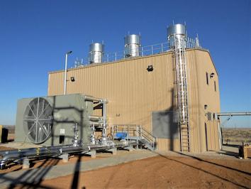 A standalone central compression facility