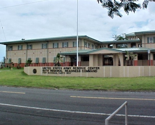The US Army Reserve Center in Puerto Rico