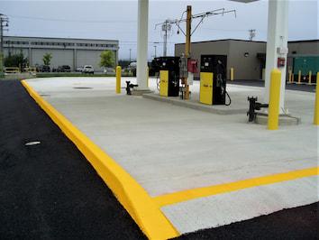 land based fuel dispensers