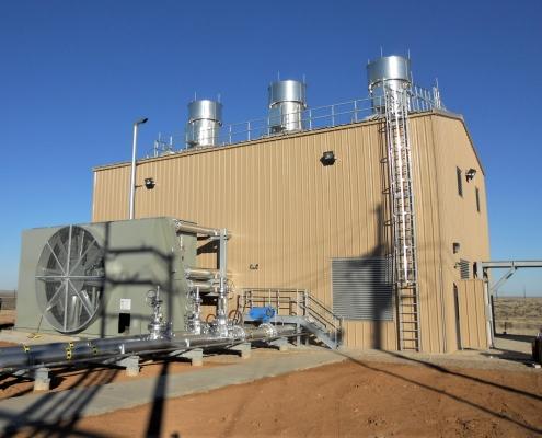 Standalone Central Compressor Unit