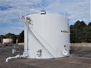 A Fuel tank built at Ft. Campbell
