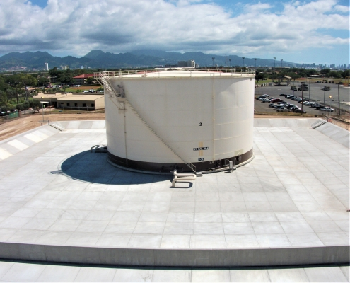The complete Fuel Storage System at the Hickam Air Force Base