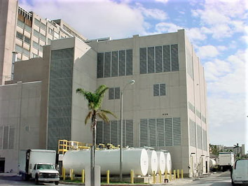 Electrical distribution system at the Miami VA hospital built by reliable contracting