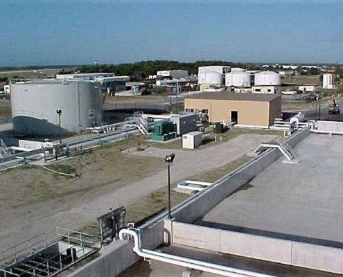 Replaced fuel tanks at the Naval Station in Mayport, Florida