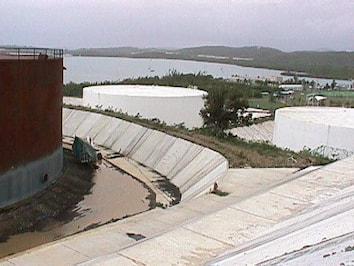 Fuel tanks in Puerto Rico
