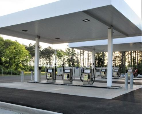 Land transportation fuel dispensers