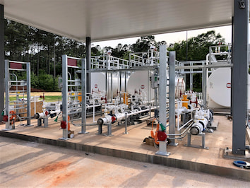 Retail fueling facilities