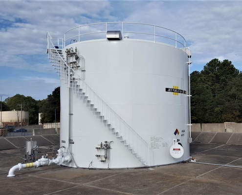 A repaired Fuel facility in Fort Campbell Kentucky