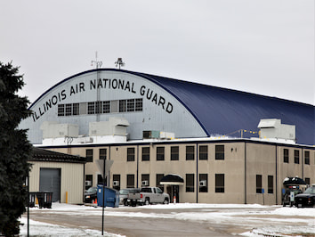 An upgraded F-16 maintenance hangar facility by reliable contracting